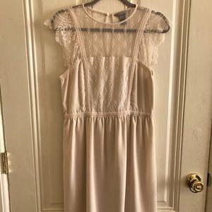 H&M Creme Lace Dress